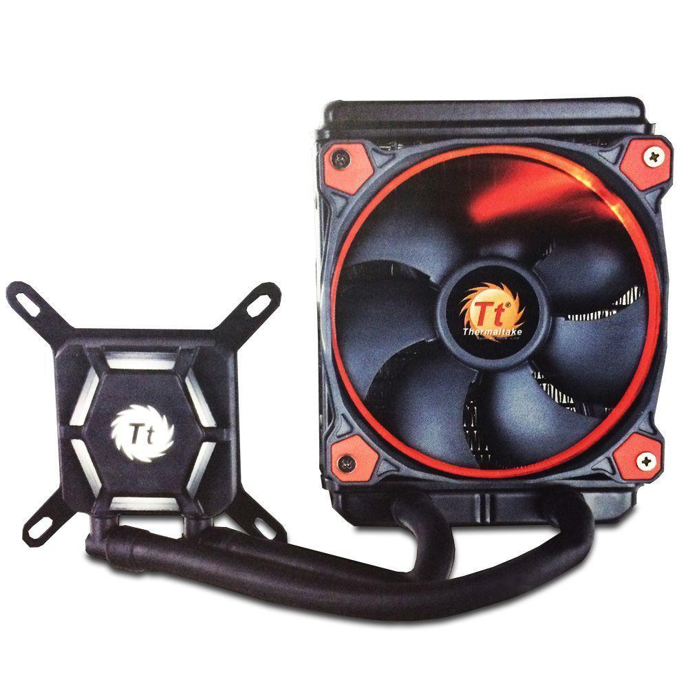 Water Cooler X120 Thermaltake Vermelho - CL-W159-PL12RE  - PC FLORIPA
