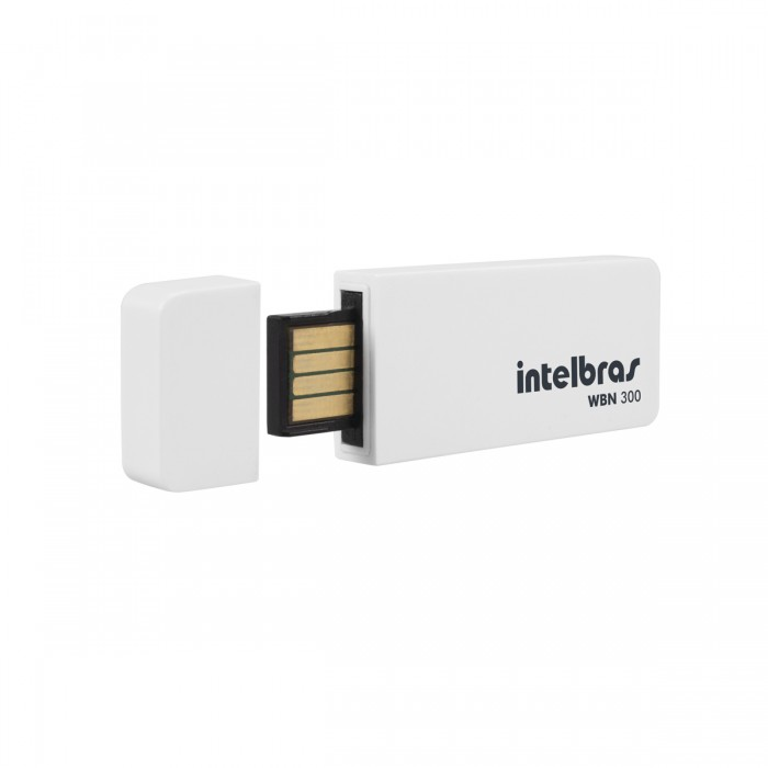 Wireless Intelbras USB 300 Mbps WBN300 - PC FLORIPA