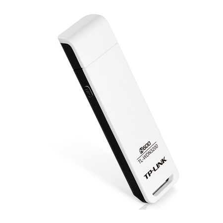 Wireless TP-Link USB TL-WDN3200 300 Mbps N600 2.4Ghz / 5.0Ghz - PC FLORIPA