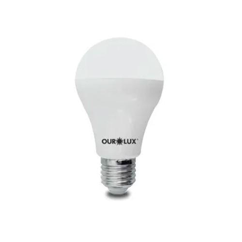 Lampada Led 12w Dimerizavel Superled Ourolux E27 3000k Morna