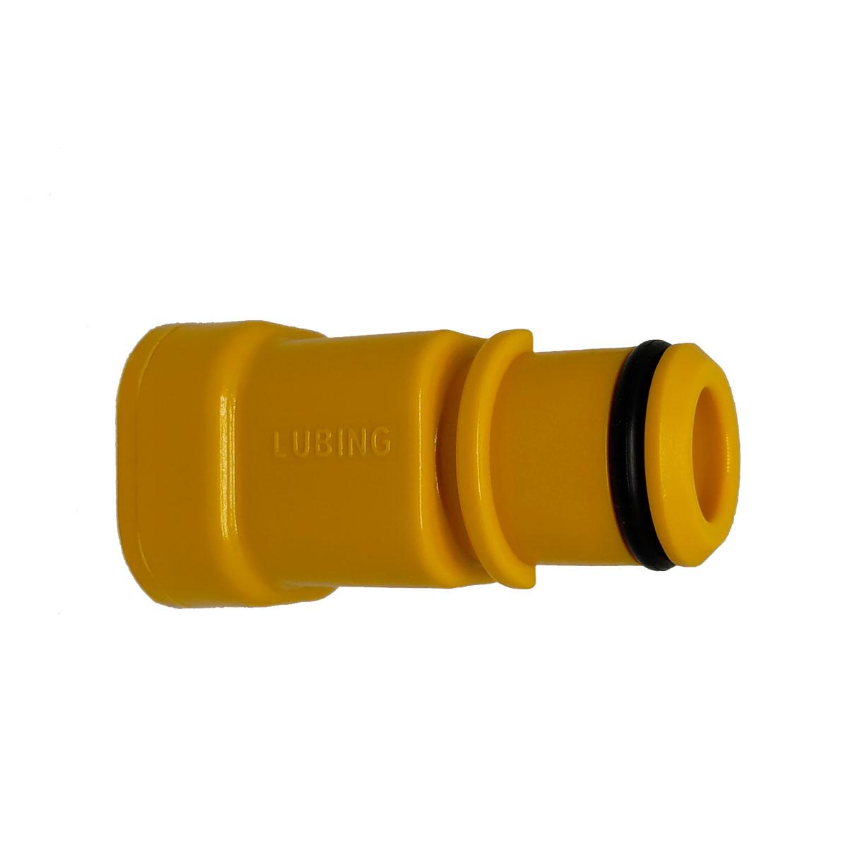Peça de Transição 22X22MM Amarela  Lubing