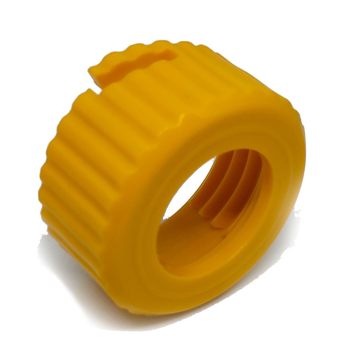Porca Amarela de Fixação do Carretel Lubing