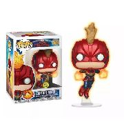 Funko Pop Capita Marvel Glows In The Dark Exclusivo Target