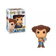 Funko Pop Toy Story 4 Woody Sheriff com Garfinho Exclusivo