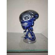 Funko Pop Movies Xenomorph Alien Novo Azul Metálico # 731