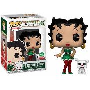 Funko Pop Betty Boop e Pudgy Elf # 505 Funko Edition