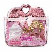Disney Parque Bolsa Com Conjunto De Acessórios Das Princesas