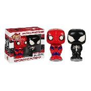 Funko Conjunto para colocar Sal e Pimenta Spiderman & Black Suit Spider