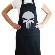 Avental de Cozinha Punisher Geek