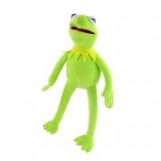 Bicho de Pelúcia Caco o Sapo Kermit dos Muppets
