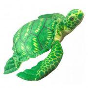 Bicho de Pelucia Tartaruga Grande Verde Antialérgica