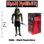 Boneco Action Figure Iron Maiden Reaction Eddie Black Powerslave