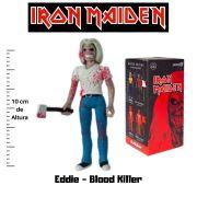 Boneco Action Figure Iron Maiden Reaction Eddie Blood Killer