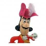 Boneco Capitão Gancho do desenho da Disney Peter Pan