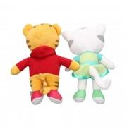 Boneco de Pelucia Daniel Tiger e Katerina Kittycat