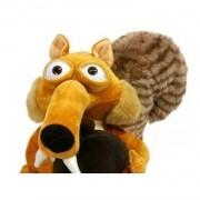 Boneco de Pelucia Scrat o Esquilo da Era do Gelo