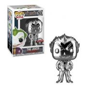 Boneco Funko Pop Coringa Cromado The Joker Batman