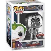 Boneco Funko Pop Coringa Cromado The Joker Batman