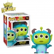 Boneco Funko Pop Disney Pixar Alien Remix Sulley #759