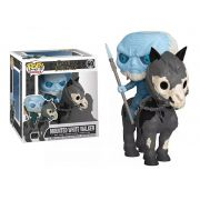 Boneco Funko Pop Game Of Thrones Mounted White Walker