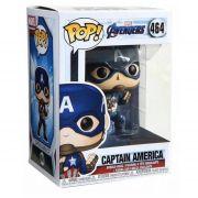 Boneco Funko Pop Marvel Avengers Capitão America