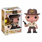Boneco Funko Pop The Walking Dead Rick Grimes #13