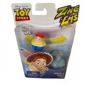 Boneco Toy Story com 2 unidades brinquedo Jessie & Trixie