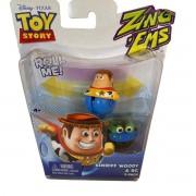 Boneco Toy Story com 2 unidades brinquedo  Woody & RC