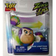 Boneco Toy Story com 2 unidades brinquedo Buzz & Zurg