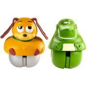 Boneco Toy Story com 2 unidades brinquedo Rex & Slinky Dog