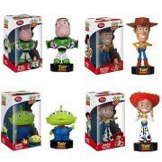 Kit Bonecos Toy Story Funko com som Woody Buzz Jessie Alien