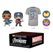 Box Funko Pop Marvel Collector Corps Endgame Caixa Exclusiva