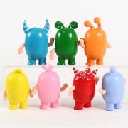 Brinquedo Bonecos Oddbods em vinil Colecionáveis
