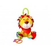 Brinquedo Chocalho Mordedor Leão bebê Interativo Sozzy