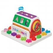 Brinquedo Educativo Girababy Colorido Didático