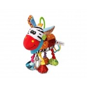 Brinquedo Mobile Chocalho Mordedor Zebra para bebê Sozzy
