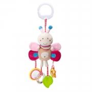 Brinquedo para Bebê Chocalho Mordedor Móbile Borboleta