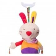 Brinquedo para Bebê Chocalho Mordedor Móbile Coelhinho