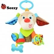 Brinquedo para bebê Interativo Mordedor Cachorrinho Sozzy