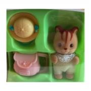 Brinquedo Sylvanian Families Bebê Esquilo Noz Epoch