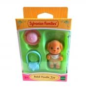 Brinquedo Sylvanian Families Bebê Poodle Toy Epoch 5411