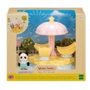 Brinquedo Sylvanian Families Carrossel Estrela Para Bebês Epoch 5539