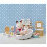 Brinquedo Sylvanian Families Conjunto Toalete e Banho 5286 Epoch