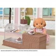 Brinquedo Sylvanian Families Salão de Chocolate Epoch