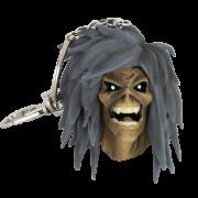 Chaveiro Oficial Iron Maiden Legacy of the Beast Holy Smoke Eddie Edição Limitada