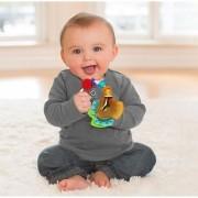 Chocalho Mordedor para bebê Chaveiro Infantino