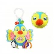 Chocalho para Bebê Móbile e Mordedor Passarinho Happy Monkey
