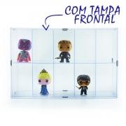 Expositor para Funko - 10 Nichos - Com Tampa