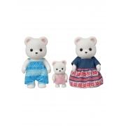 Familia Dos Ursos Polares Sylvanian Families Epoch