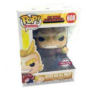 Funko Pop All Might Metalico Silver Age My Hero Academia #608
